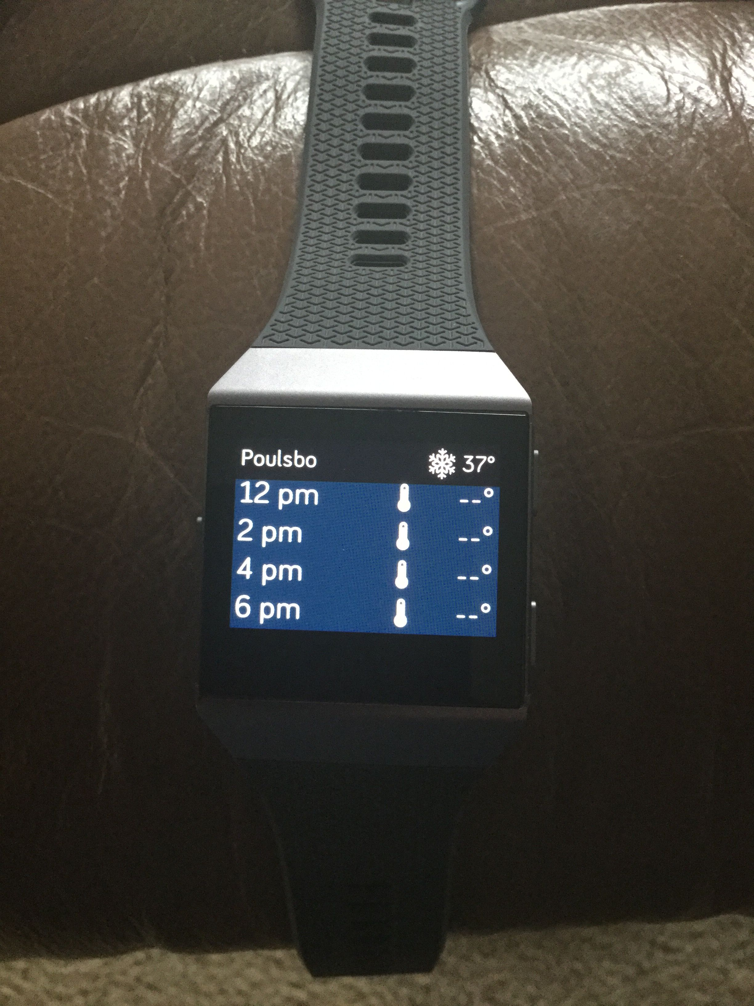 Solved: Fitbit Ionic Weather app not working - Fitbit Community