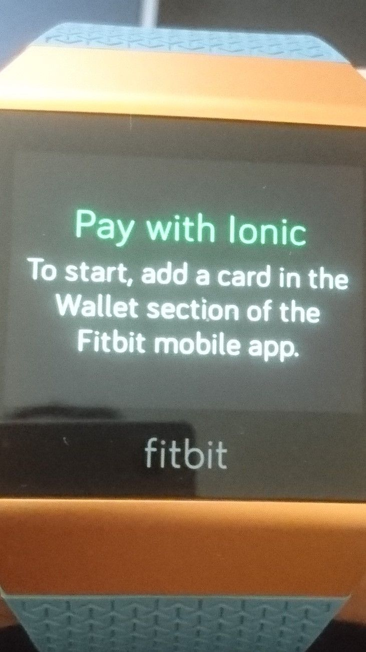 Fitbit Pay in Australia - Fitbit Community