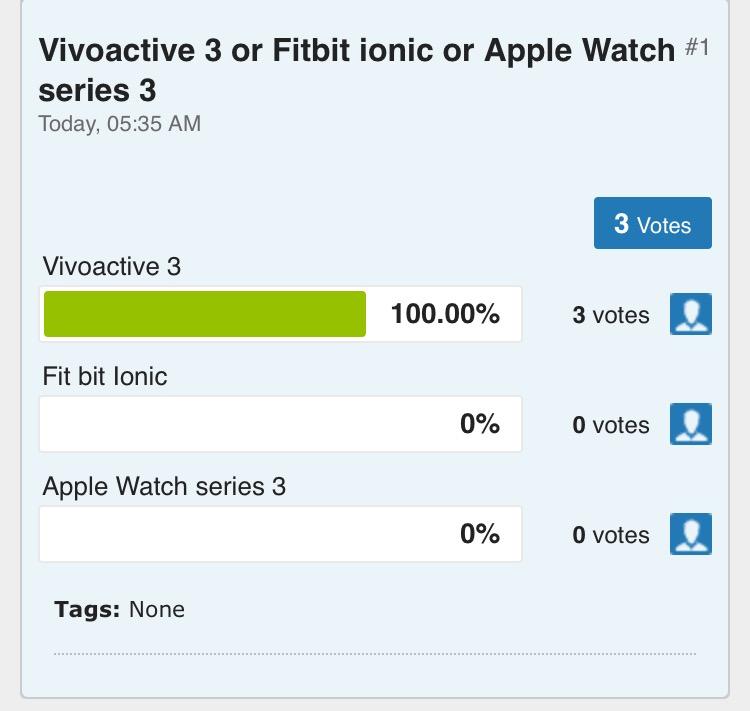Fit Bit ionic or Garmin Vivoactive 3 - Fitbit Community
