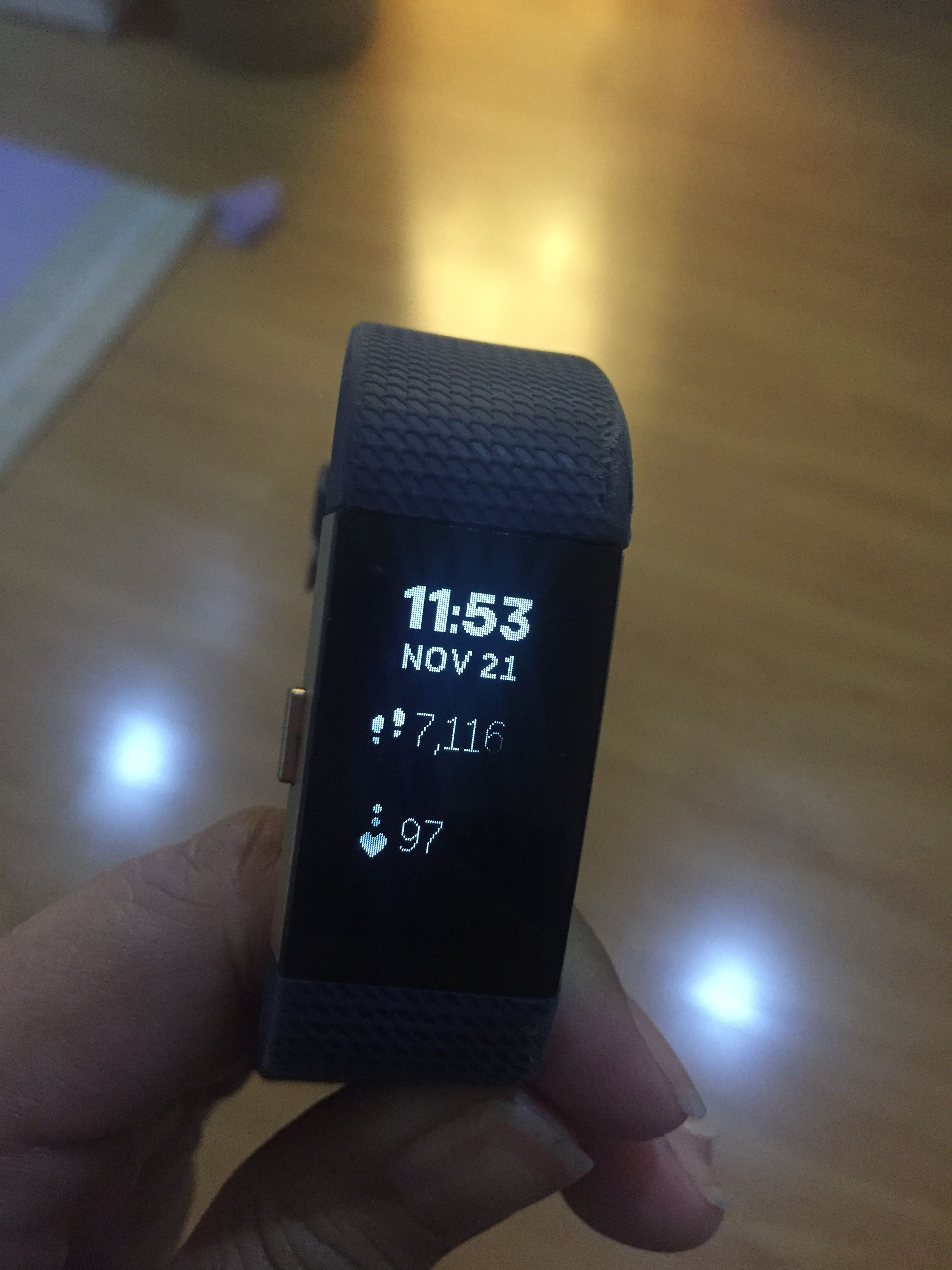 Screen display fading on my Charge 2 - Fitbit Community
