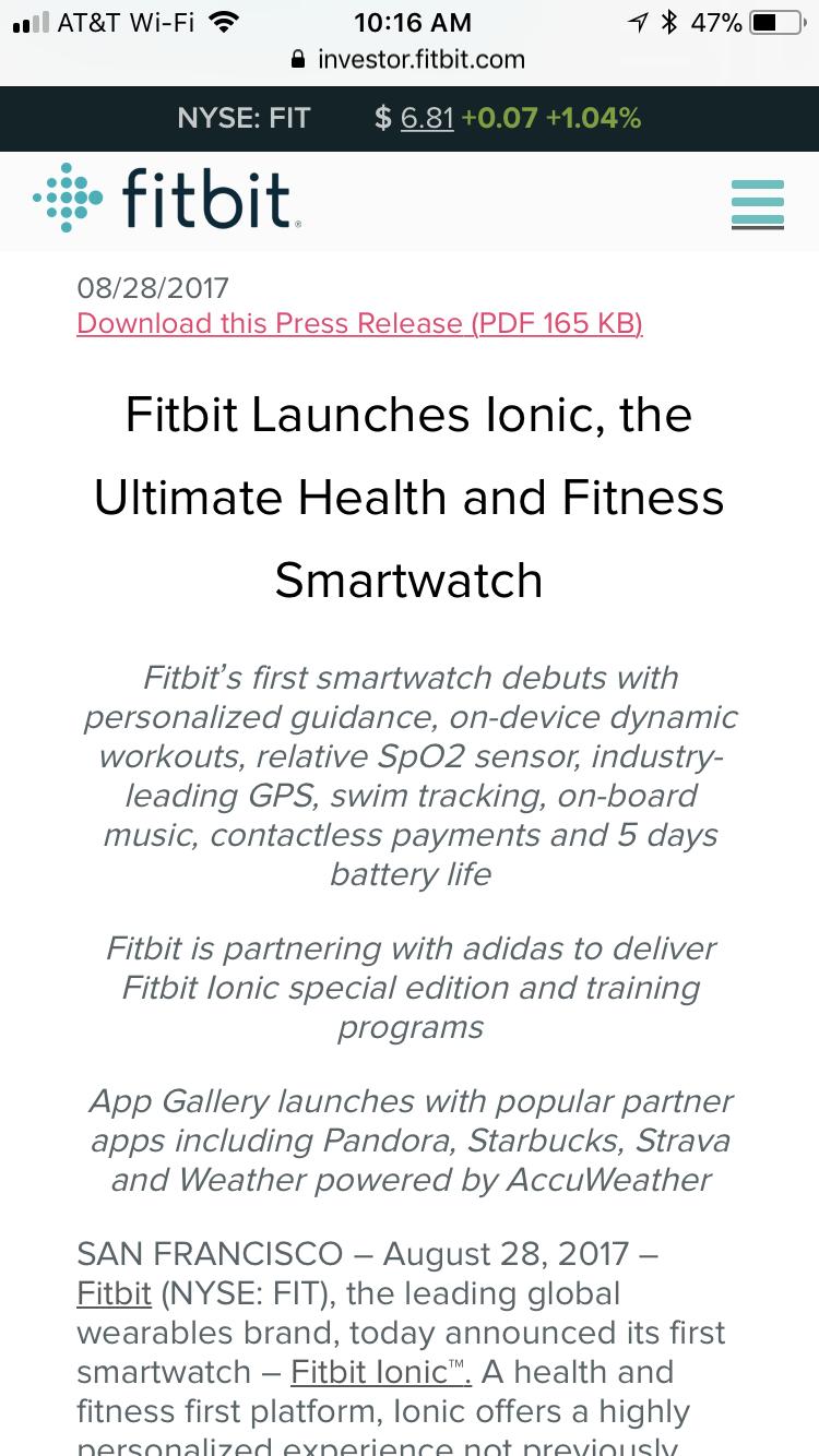 Solved: SPO2 sensor - Fitbit Community