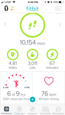 Solved: Turn ON resting HR? - Fitbit Community