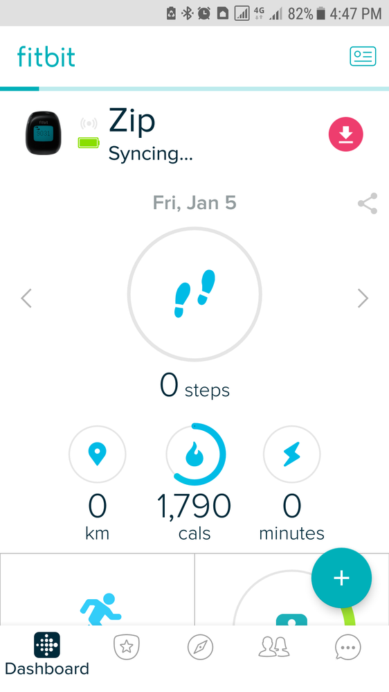 how to change email on fitbit app