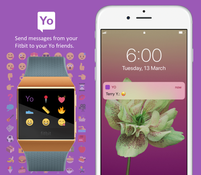 Yo app - Send emojis to your Yo friends on your Io