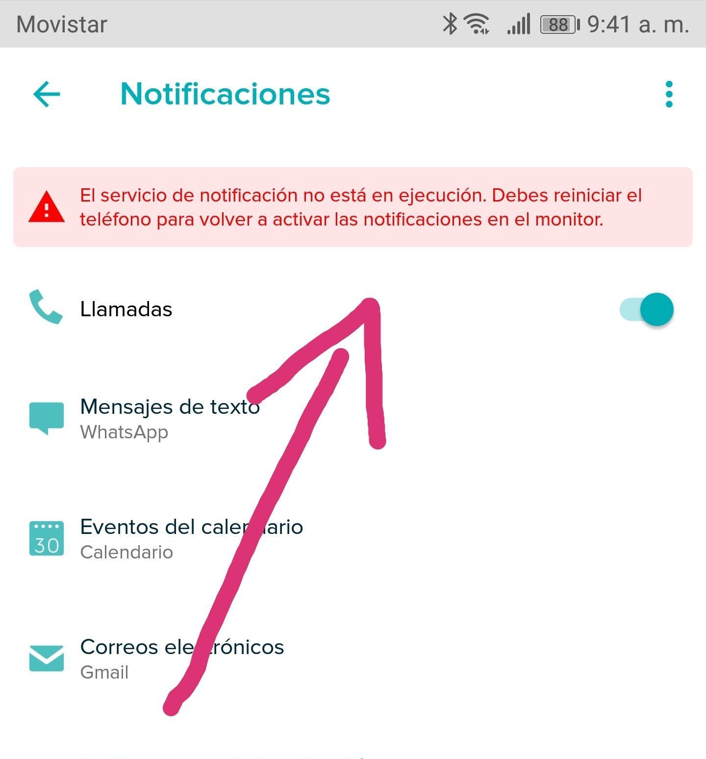 El servicio de notificación no está en ejecución - Fitbit Community