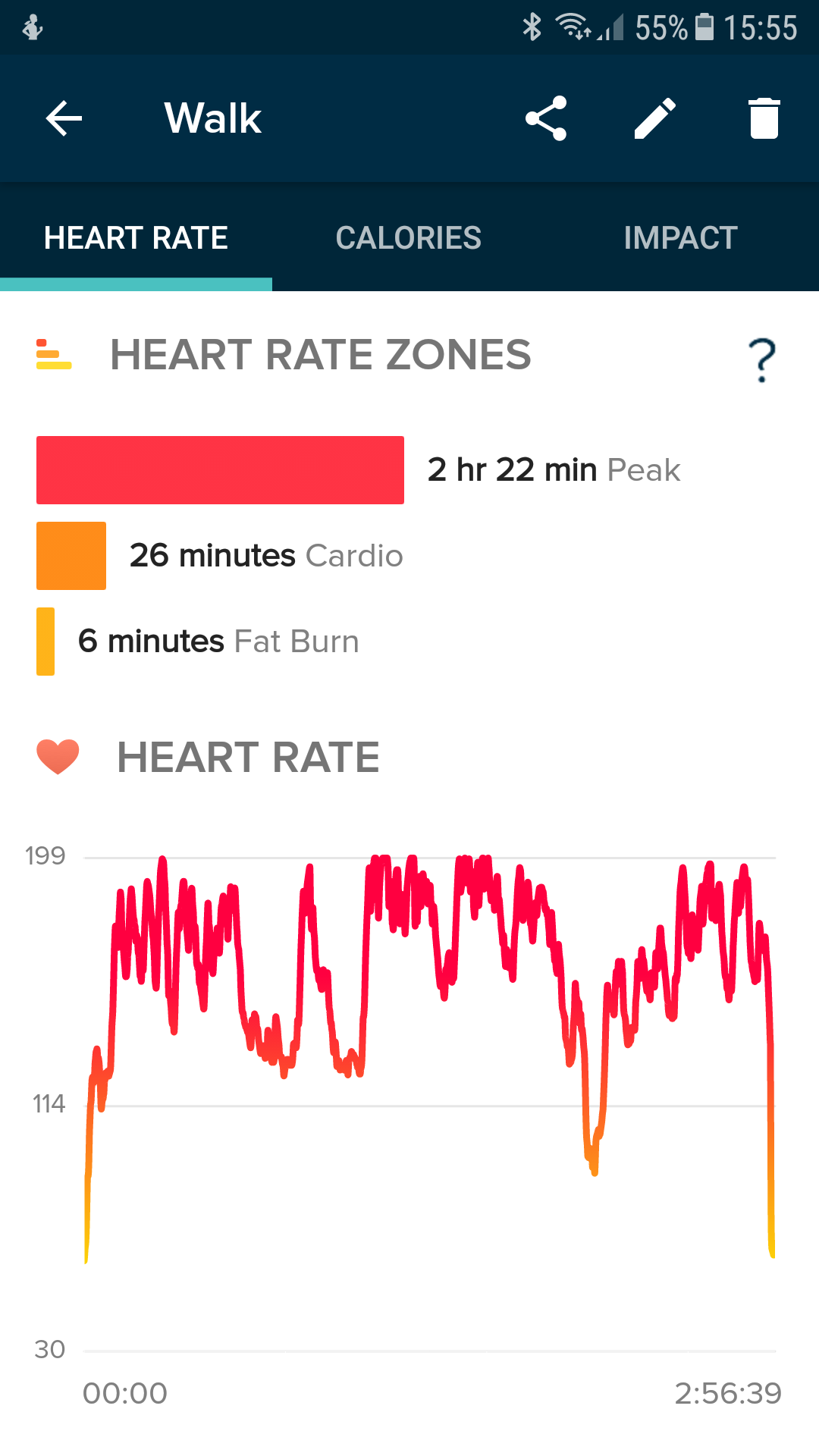 how to get km on my fitbit