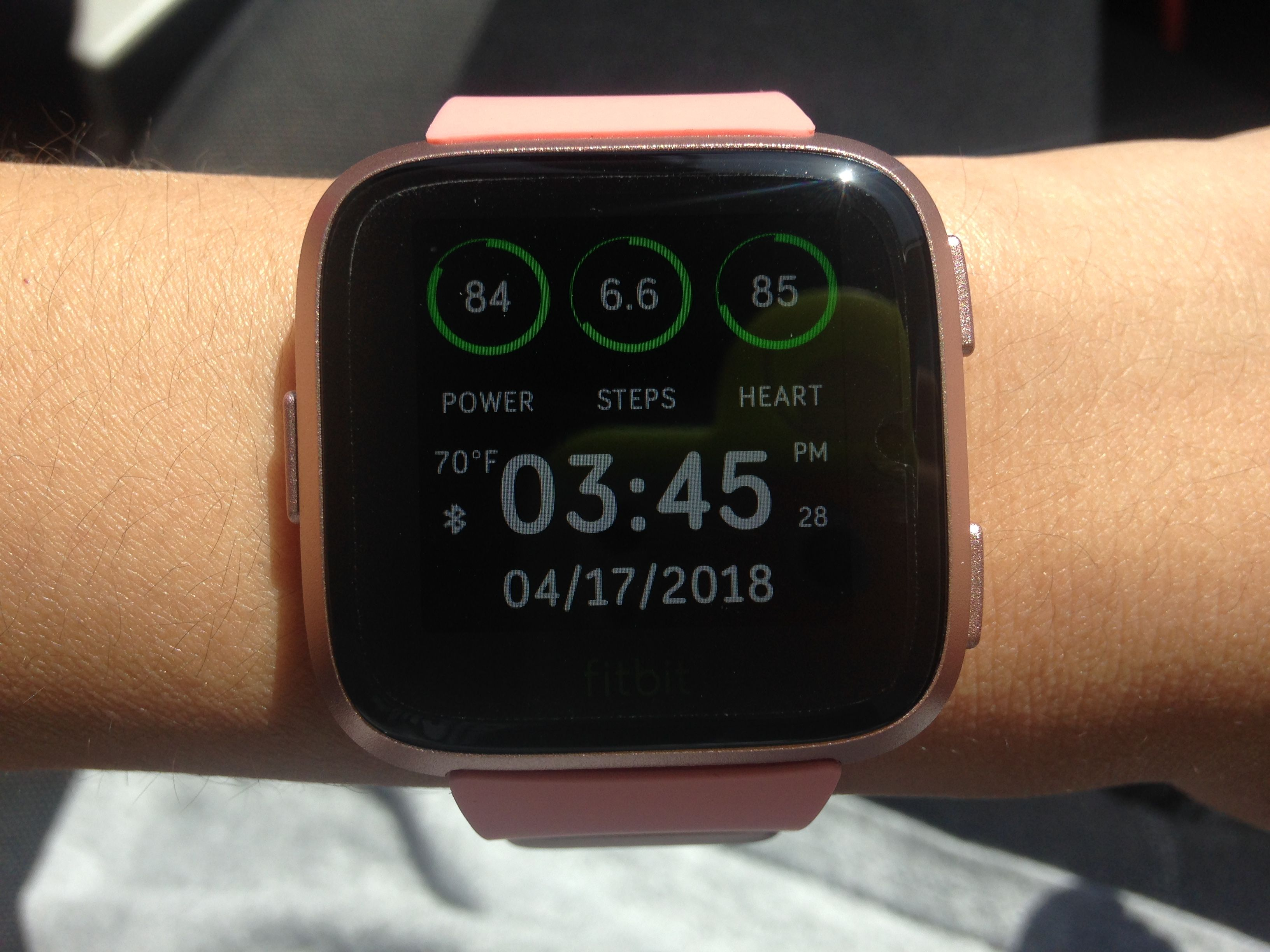 Solved: Pics of Versa on super small wrists? - Fitbit Community