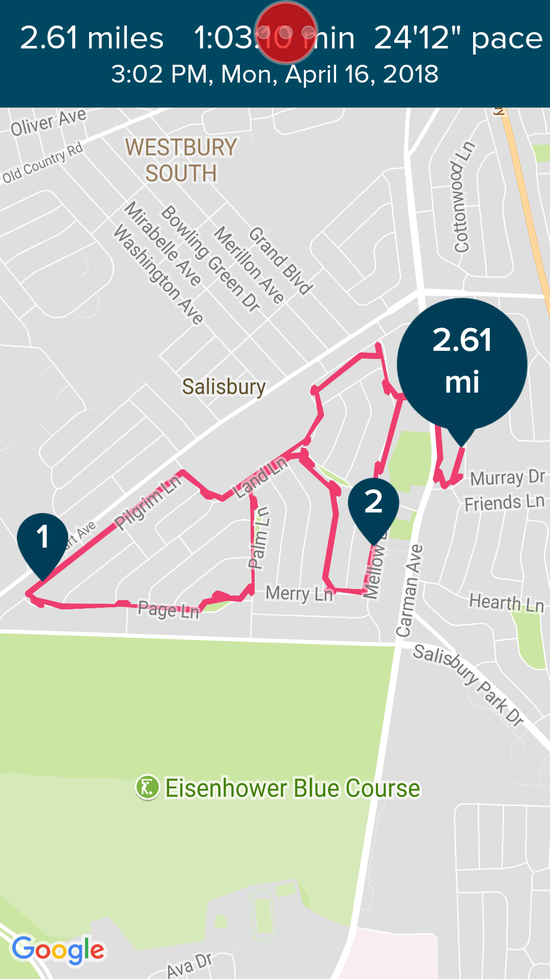 Connected GPS Run Inaccurate Distance (Screenshots