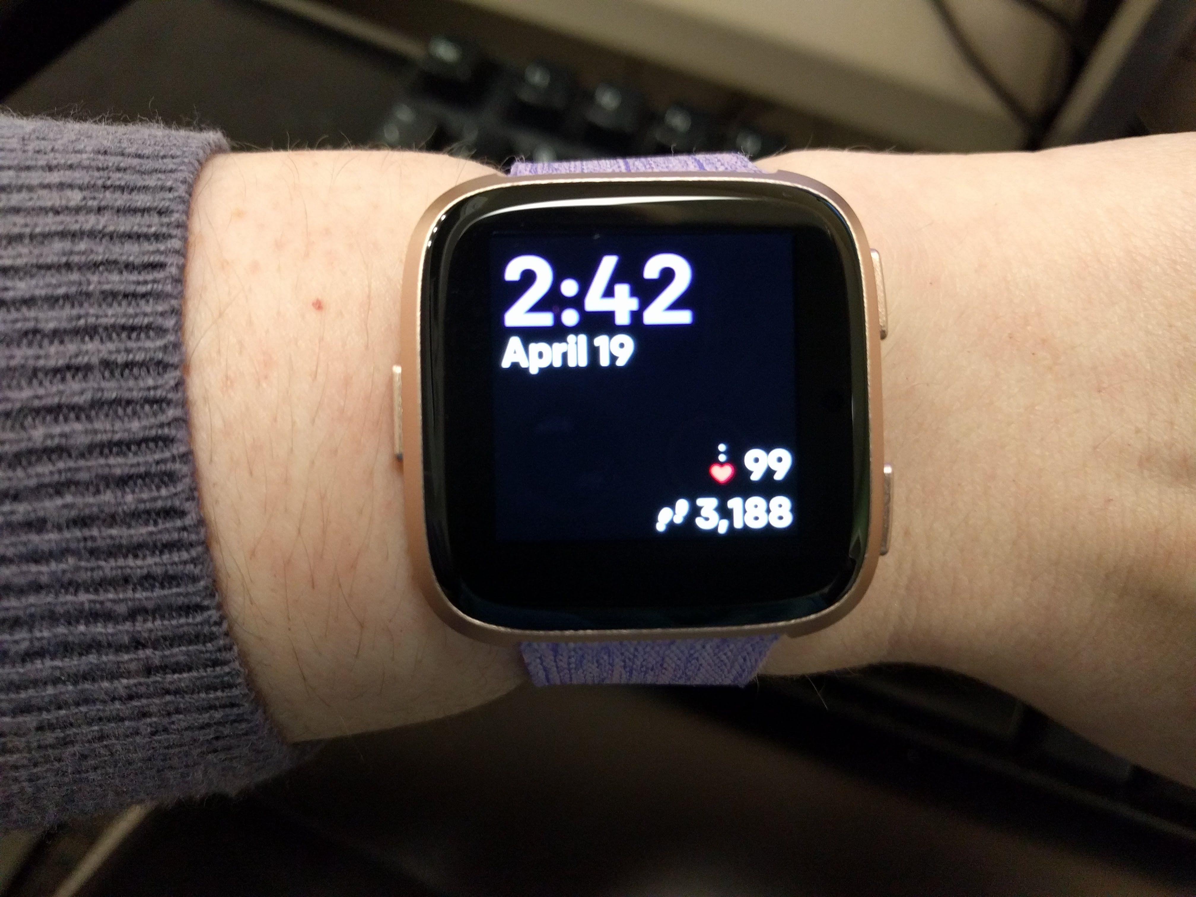Show Me Your Clock Face Fitbit Community
