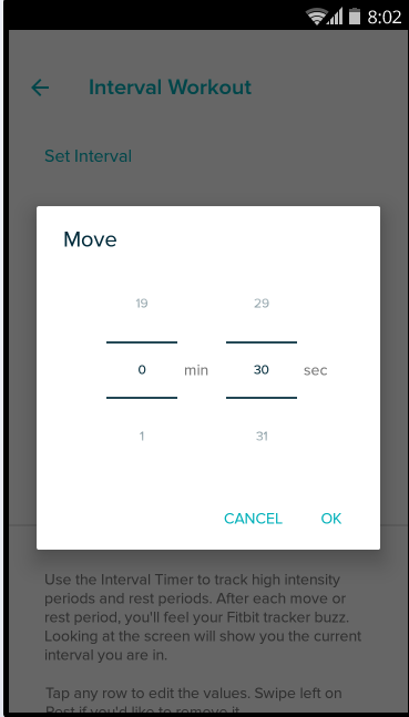 Interval Timer App - Fitbit Community