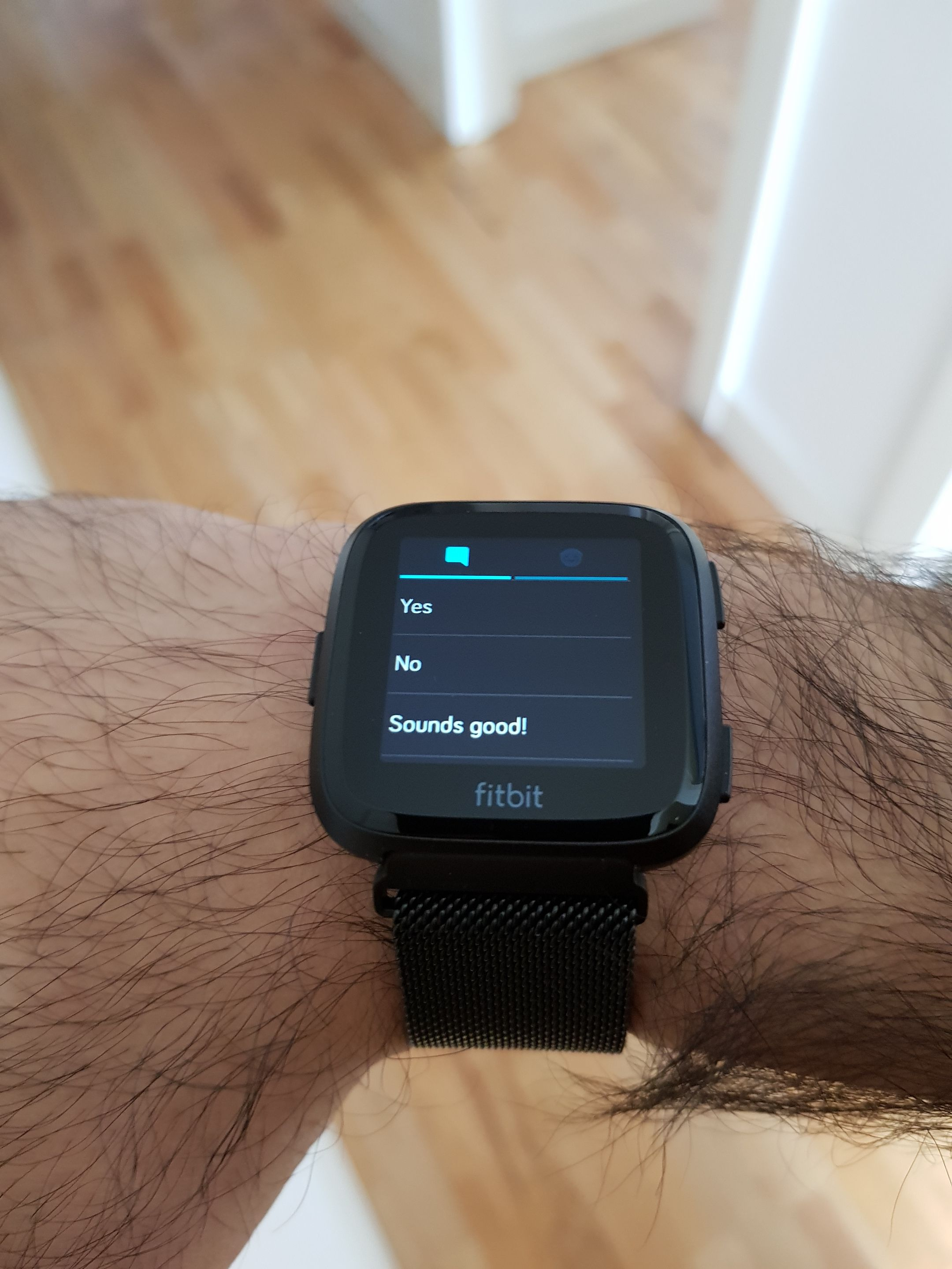 Solved: Quick replies not available with Textra - Fitbit