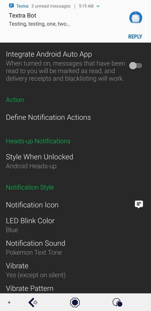 Solved: Quick replies not available with Textra - Fitbit Community
