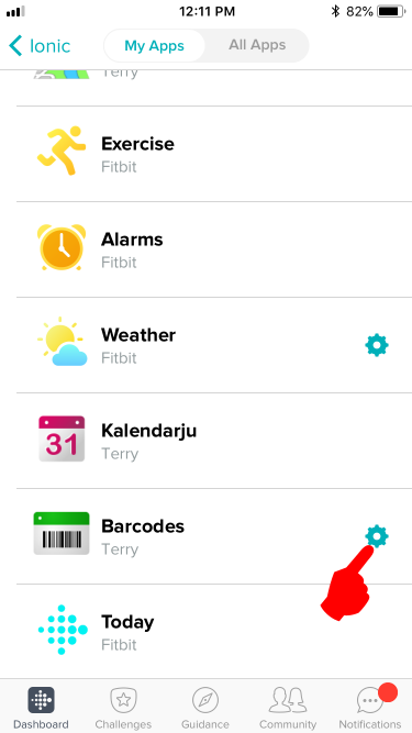 Adding Bar Codes To The Barcodes App Fitbit Community