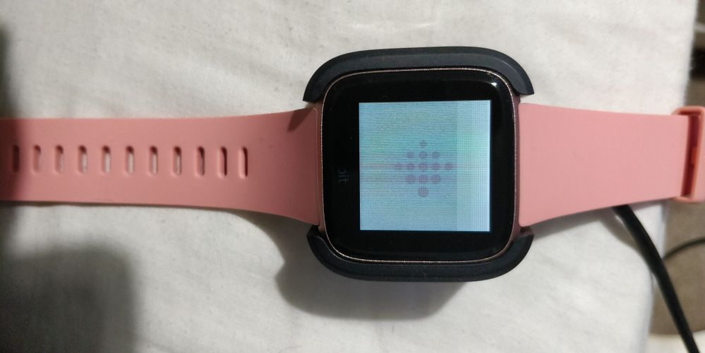 Solved: Fitbit Versa Screen Issue - Fitbit Community