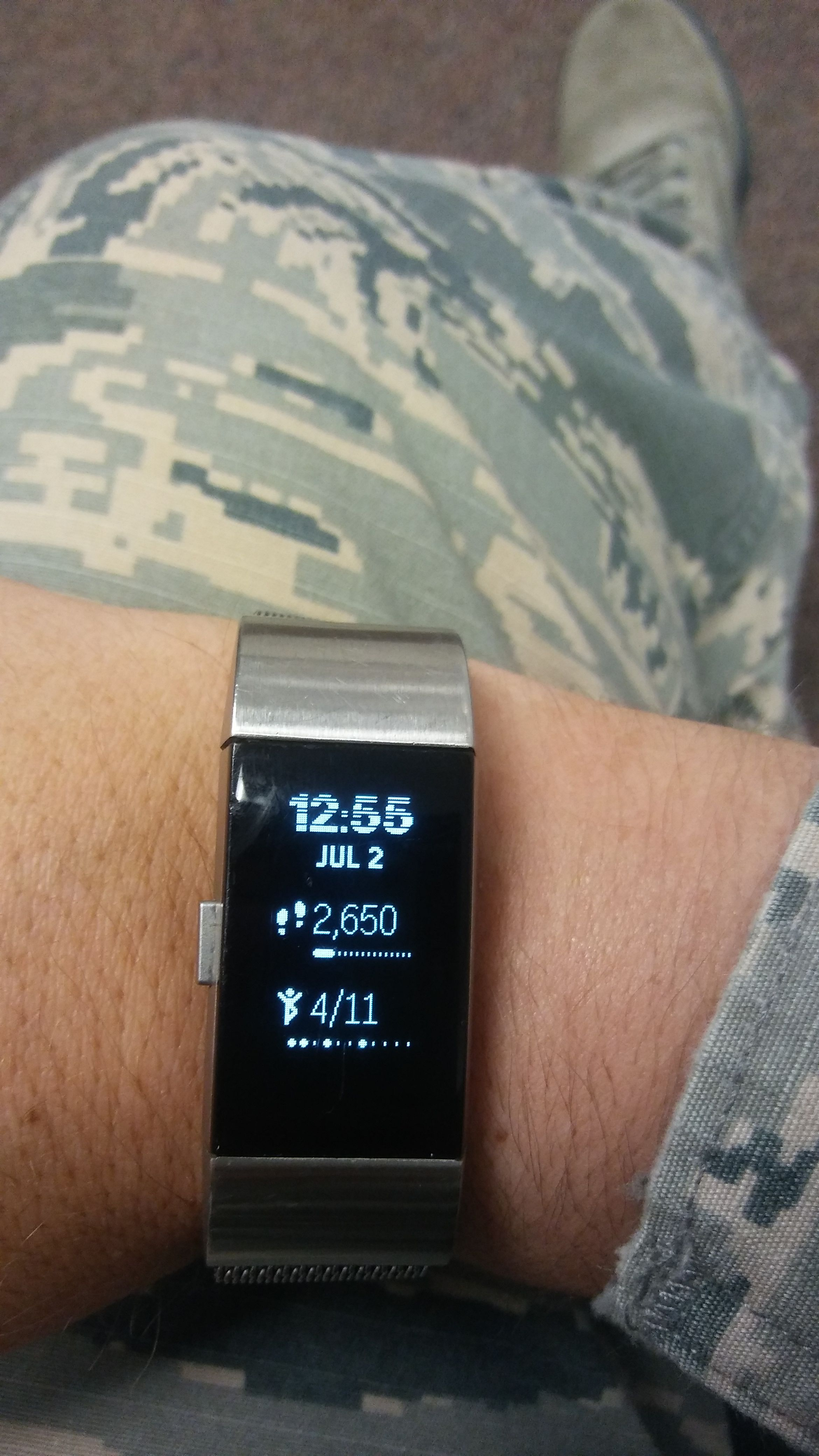 Solved: Screen Lines of Dead Pixels - Fitbit Community