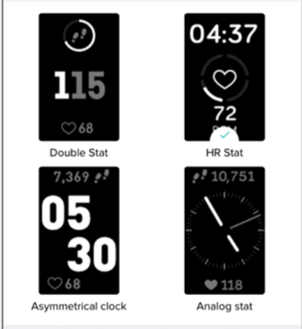 Solved: How do I Change Clock Faces on Charge 3? - Fitbit Community