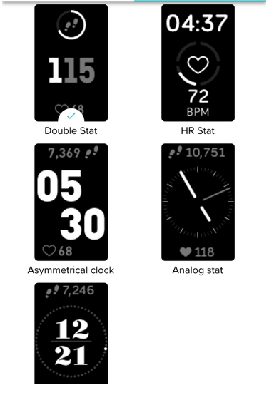 Solved Charge 3 Clock Face To Display Date Page 3 Fitbit Community