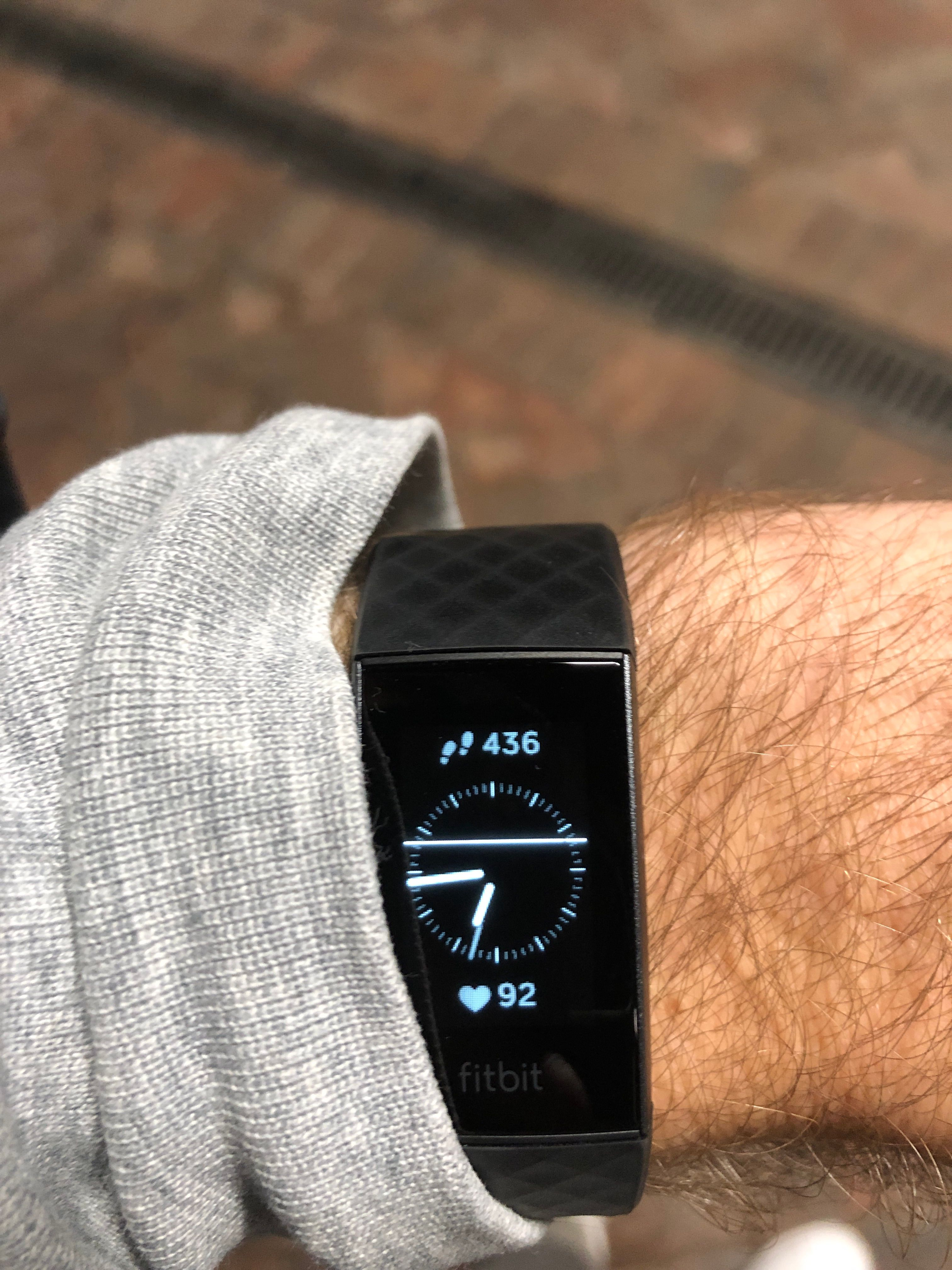 Charge 3 screen has a white line across the screen    - Fitbit Community