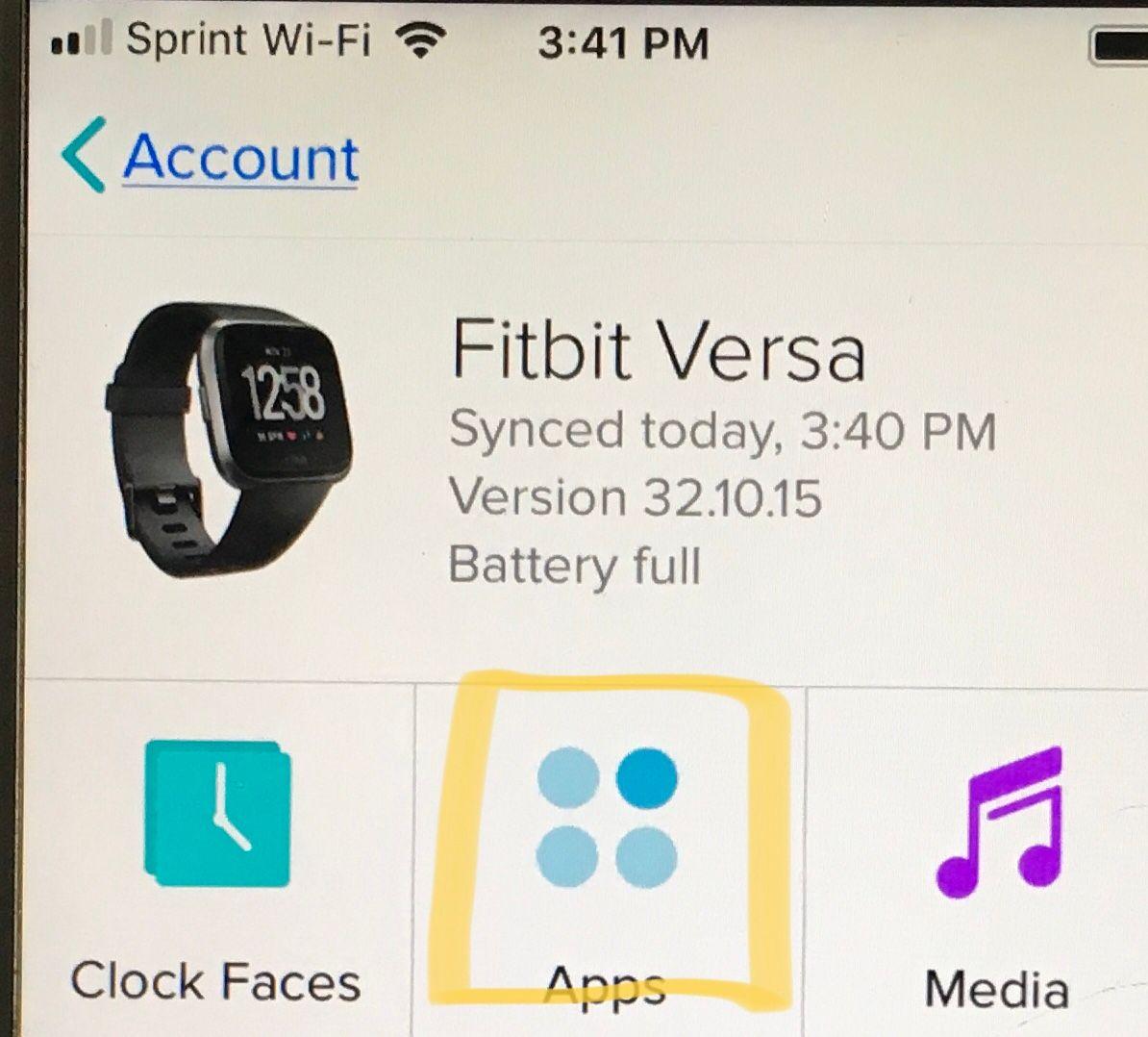 How do I setup weather on my Versa? - Fitbit Community