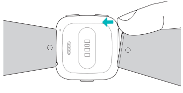 fitbit versa 2 armband wechseln