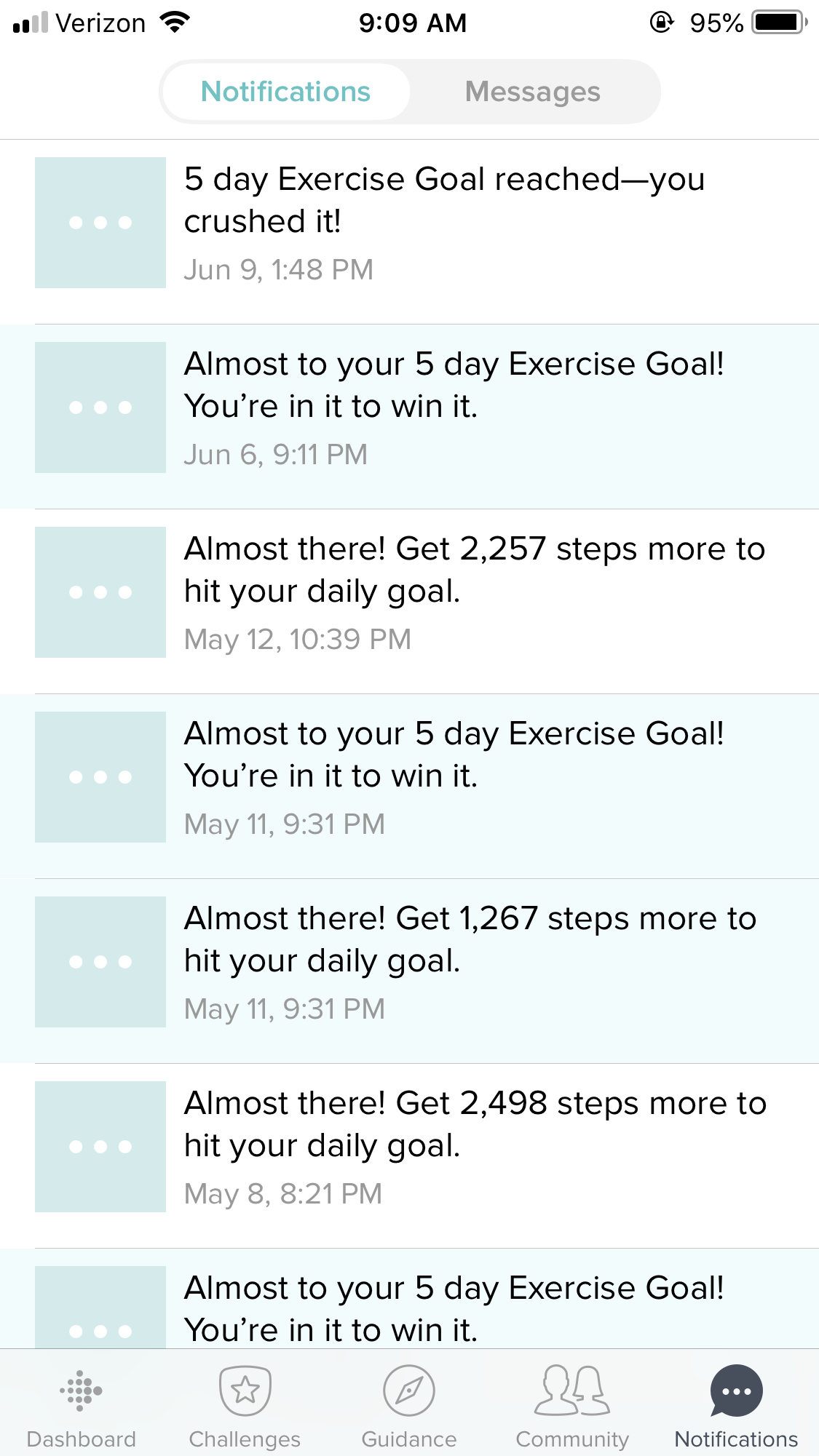 Solved: How to clear all notifications? - Fitbit Community