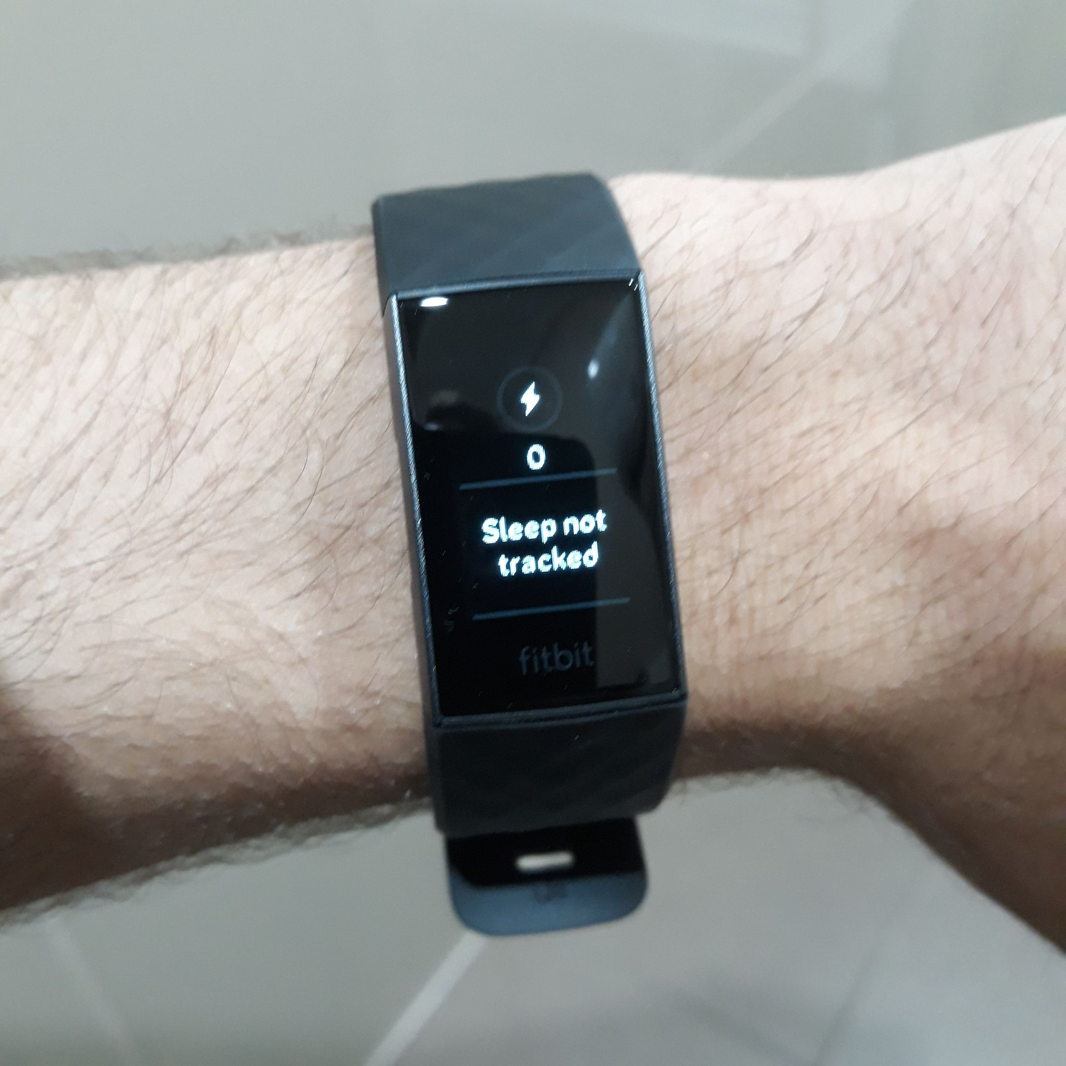 Charge 3 saying Sleep is not tracked - Fitbit Community