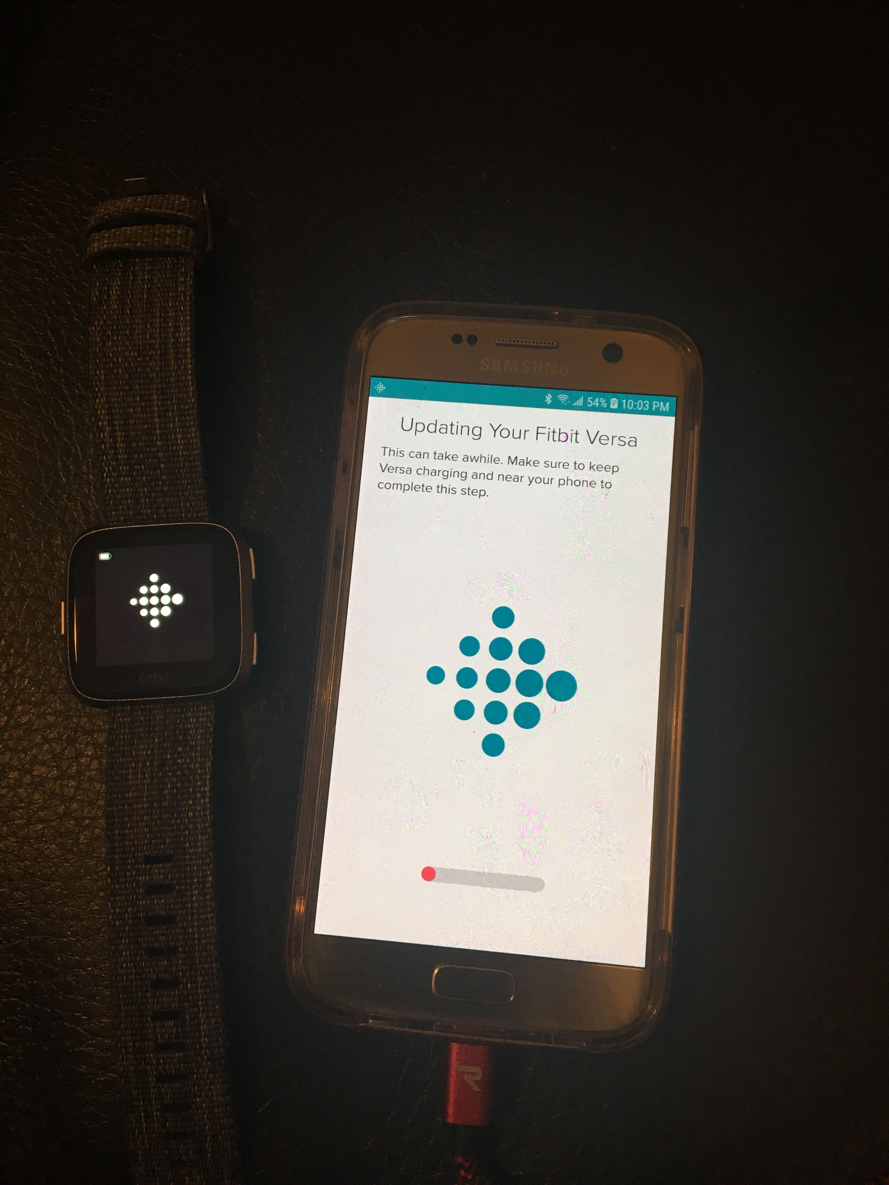 How to connect fitbit versa to samsung s7