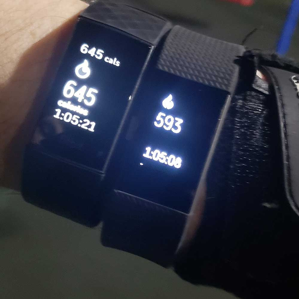 Solved: Charge 3 calories not accurate - Fitbit Community