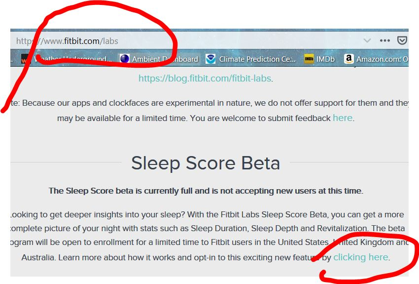 Fitbit Sleep Score Beta Test - Page 3 - Fitbit Community