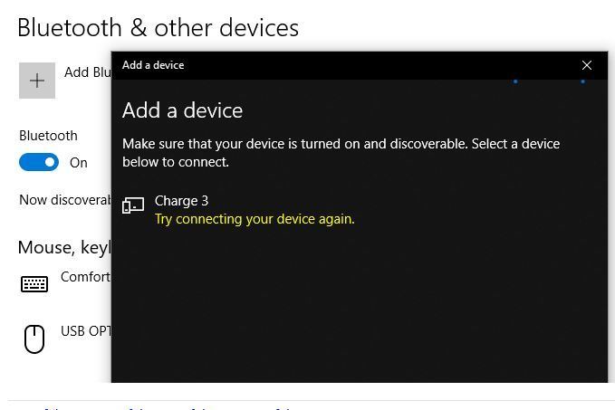 Charge 3 compatibility with Windows 10 - Fitbit Community