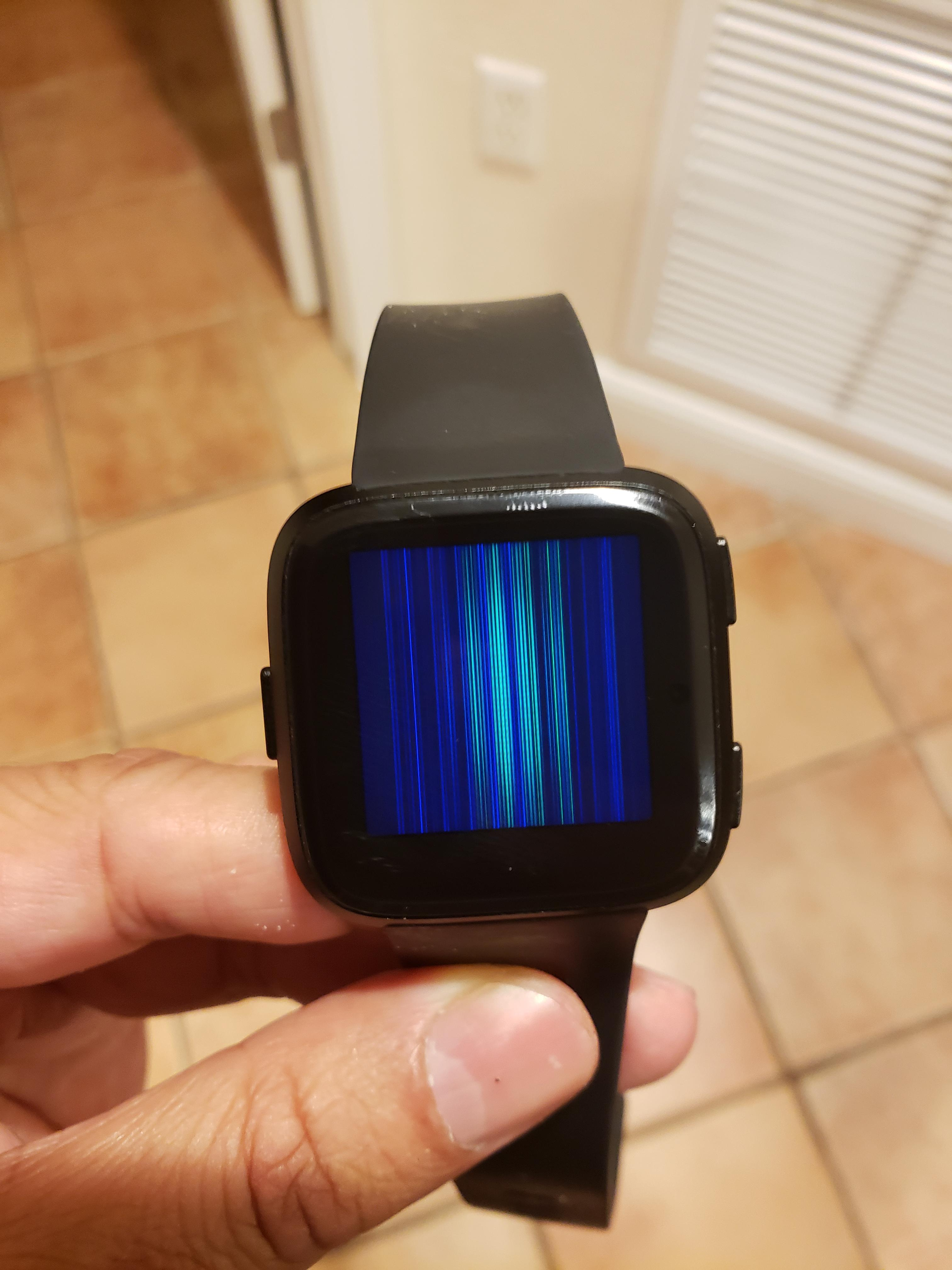 Screen vertical lines and display dims - Page 2 - Fitbit