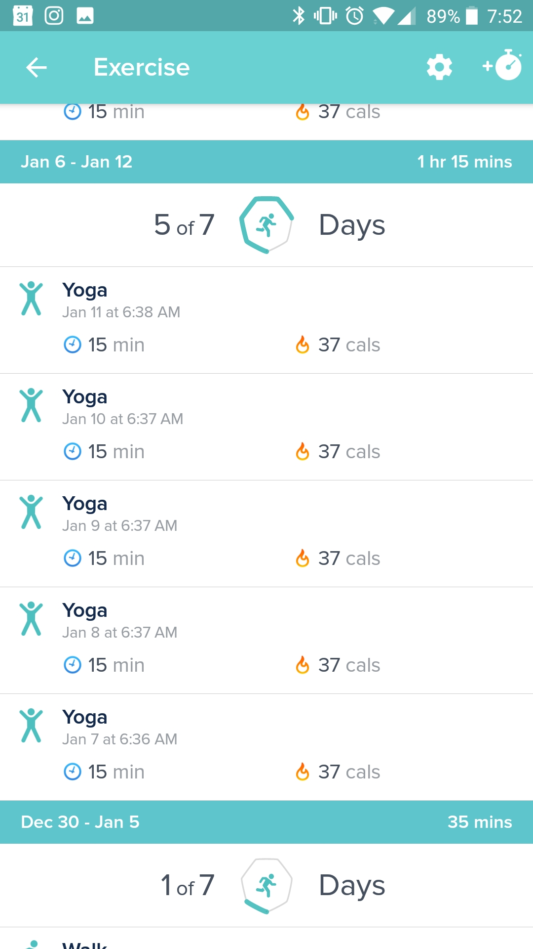 exercise not showing up in app dashboard - Fitbit Community