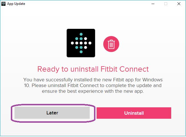 How to install fitbit DESKTOP app on Win10? - Fitbit Community