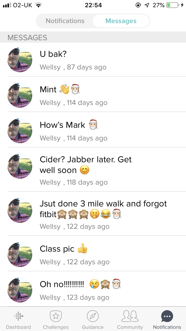 Solved: Deleting messages - Fitbit Community