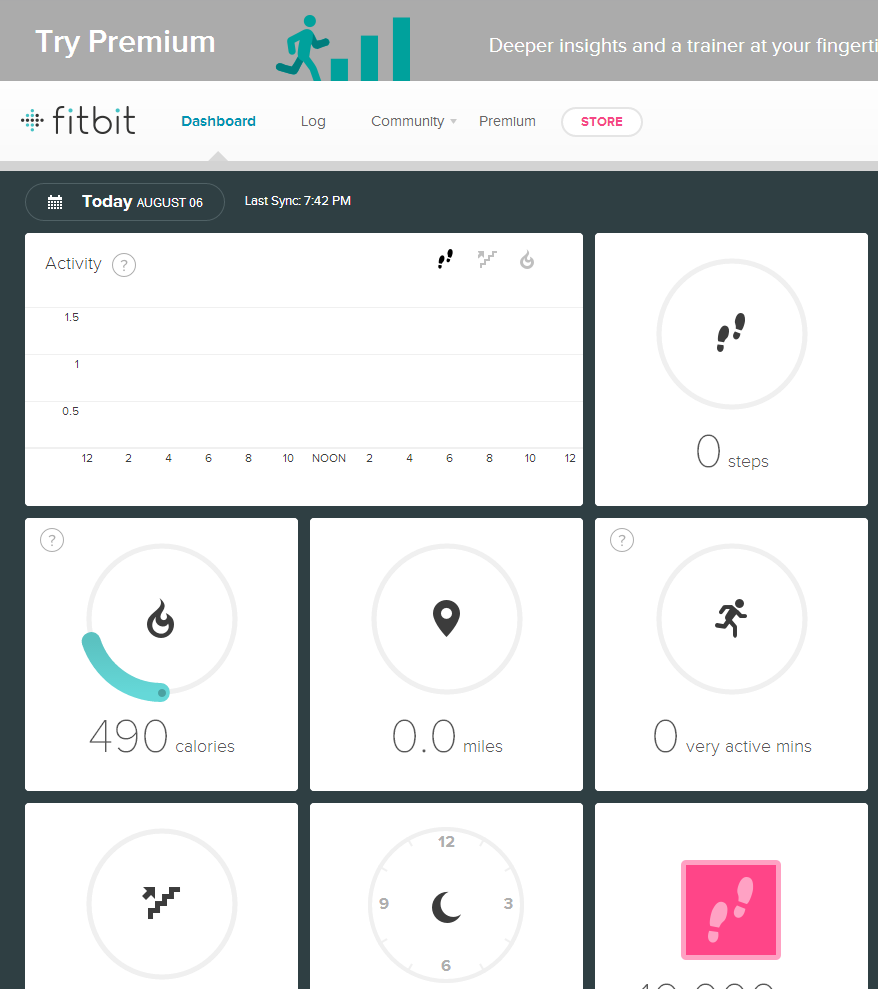 solved how do i force sync fitbit community rh community fitbit com Fitbit Flex Fitbit One Manual PDF