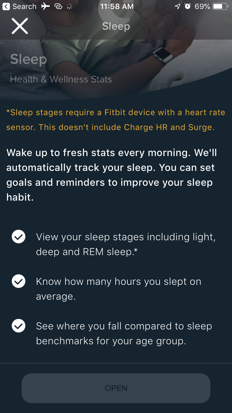 Fitbit app new Dashboard - iOS - Fitbit Community