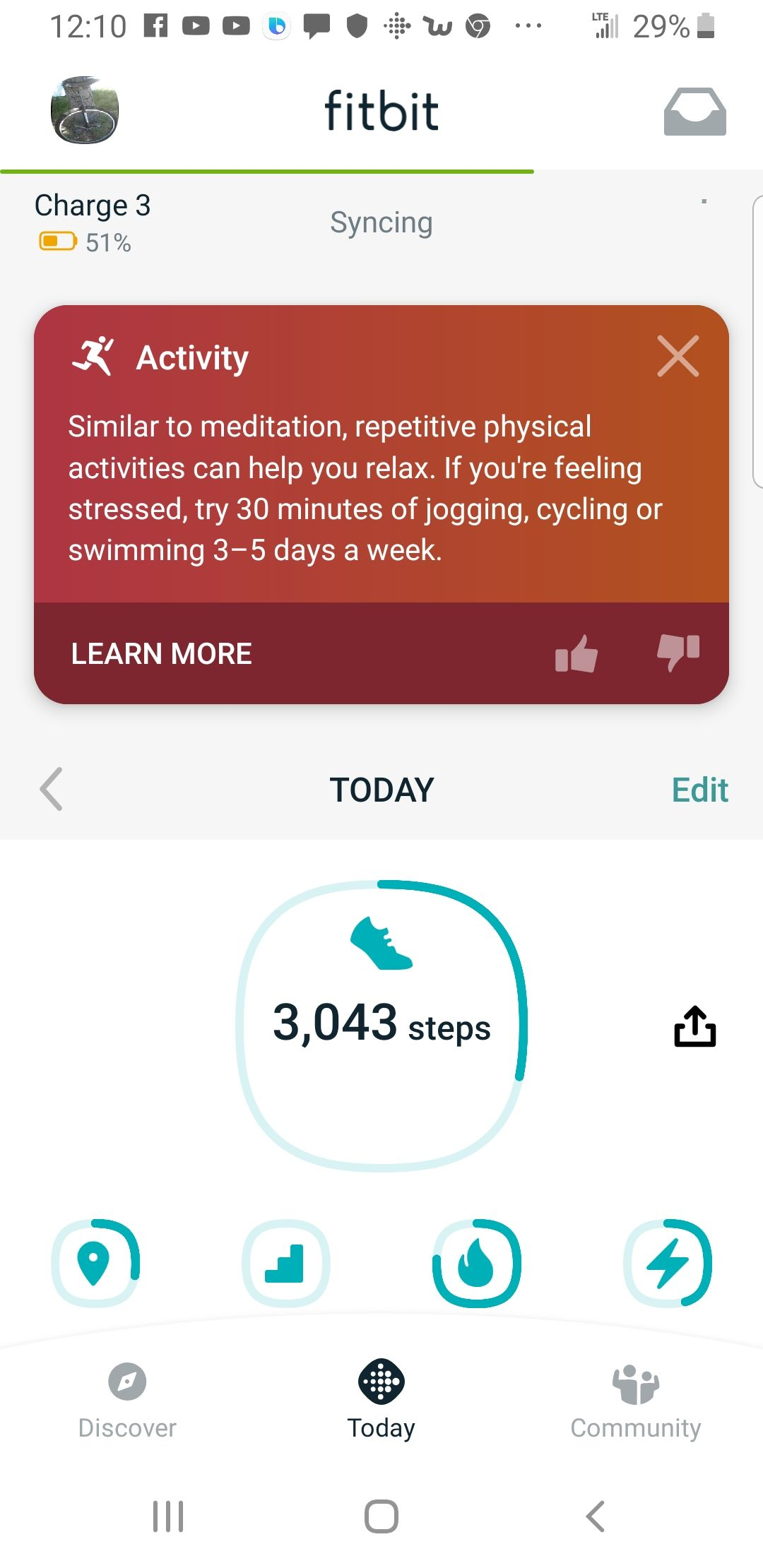 Solved: Fitbit app new Dashboard - iOS - Fitbit Community