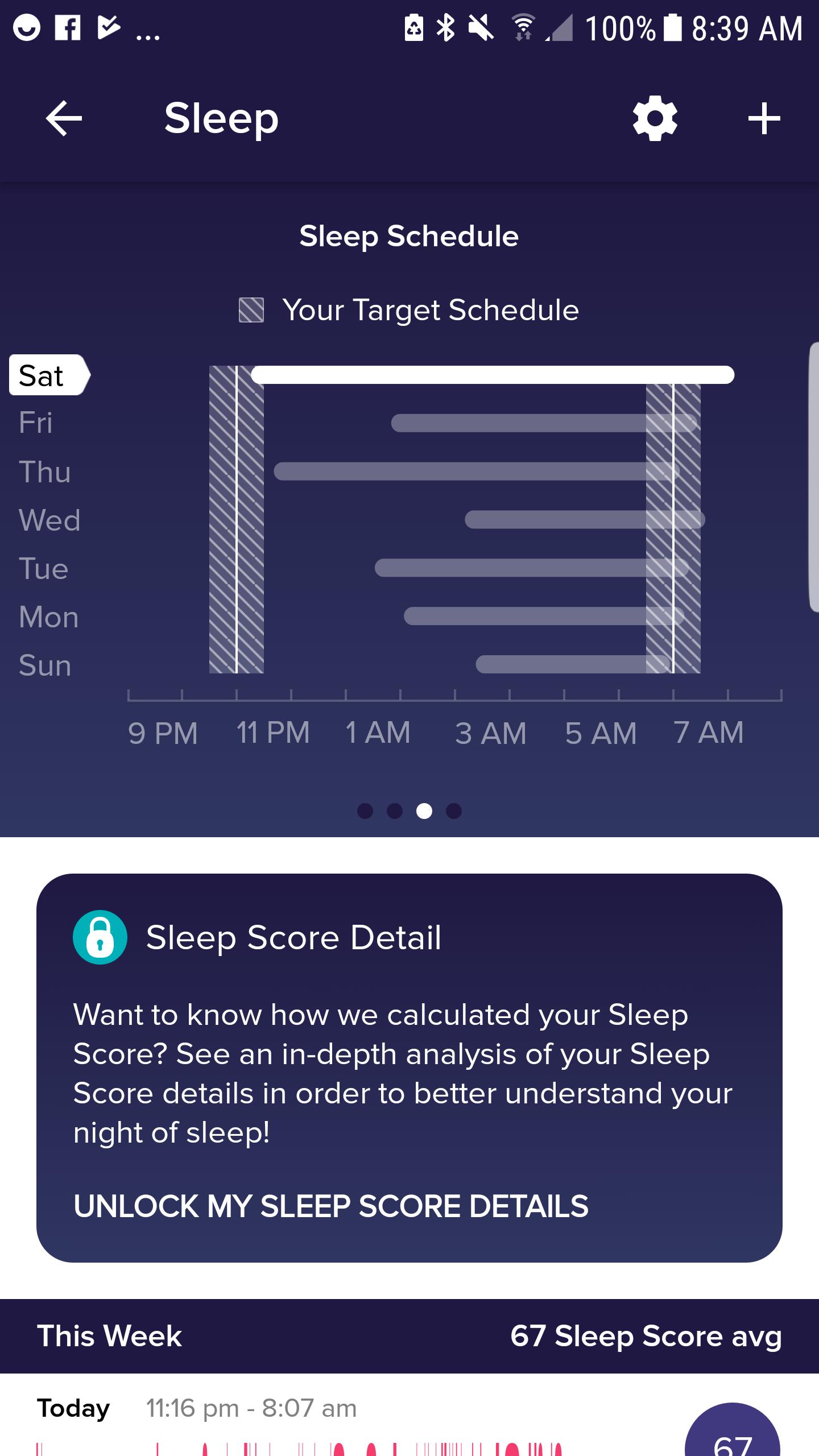 Sleep Score - bugs - Fitbit Community